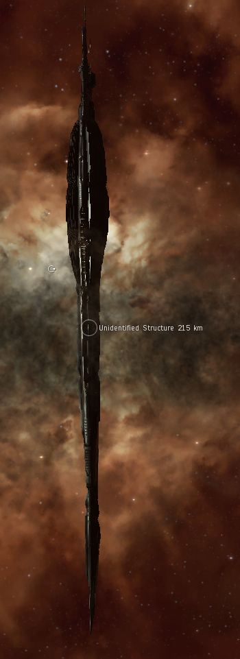 An Unidentified Structure - now fully visible, and over 140km long.