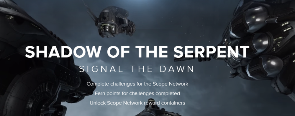 CCP Games did a nice job setting the stage for this PvE event, starting with this dedicated website promotion.