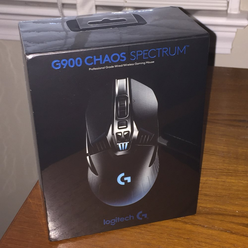 My shiny new mouse arrives!
