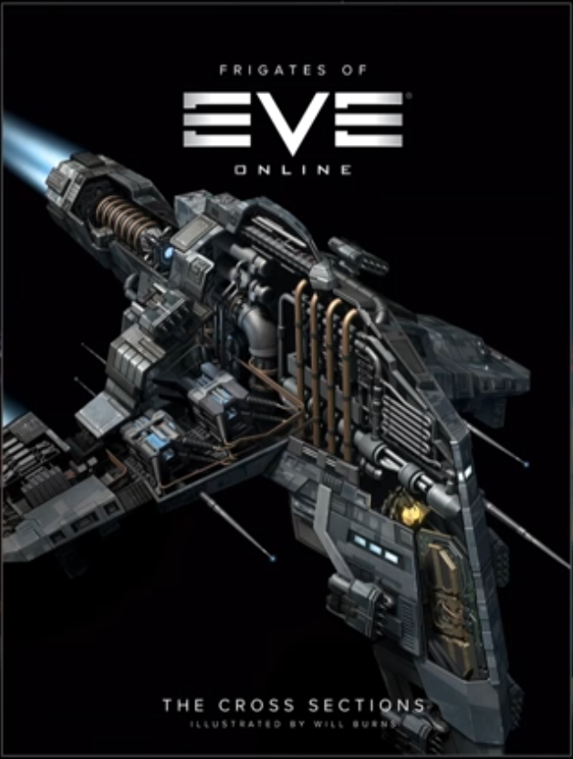 A book detailing the frigates of EVE Online will be available for pre-order from the EVE store on April 12, with shipment expected in the summer.