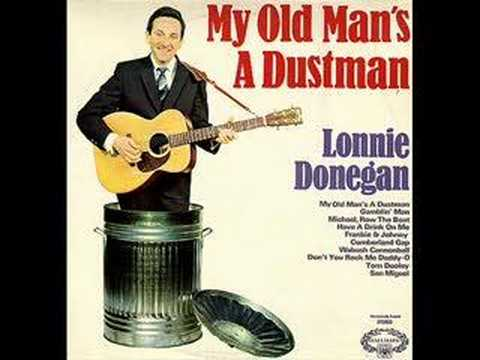 Lonnie Donegal; a musical man with a wry sense of humour