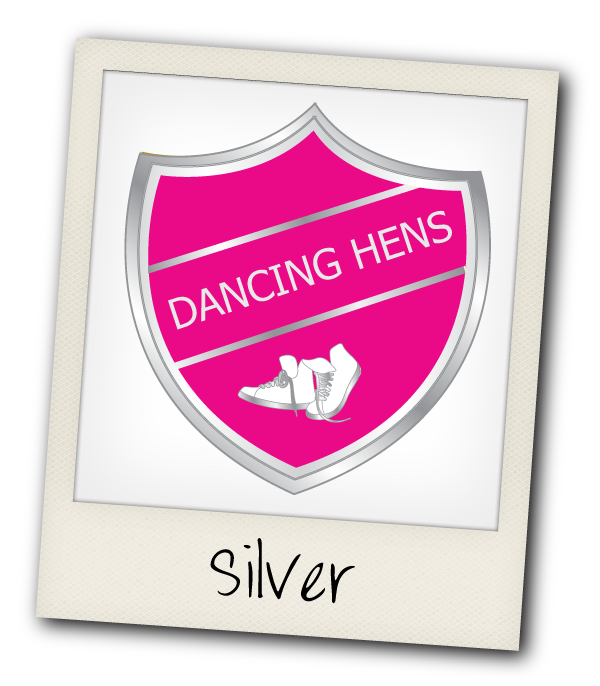 Silver Dancing Hen Party