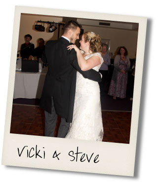 Vicki and Steve dance the tango