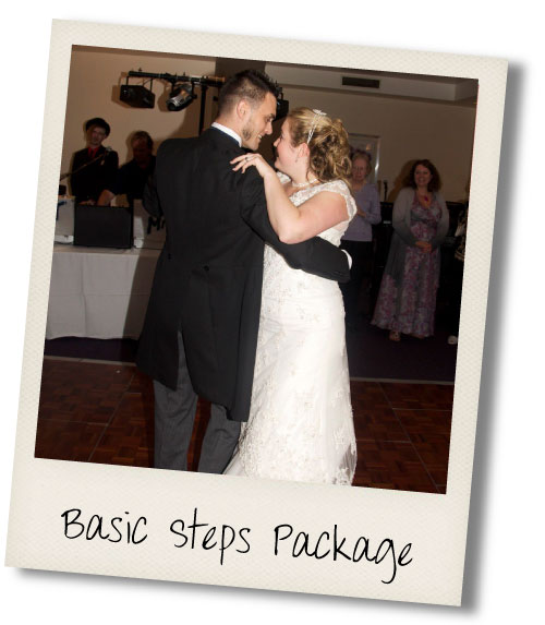 Wedding First Dance Basic Steps Package
