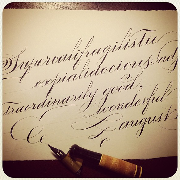 "openinkstand :       super- ""above"", cali- ""beauty"", fragilistic- ""delicate"", expiali- ""to atone"", and docious- ""educable"""