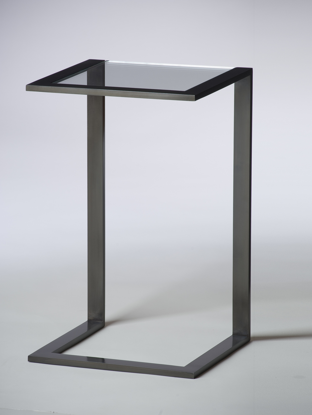 Talea Drink Table with Starfire glass