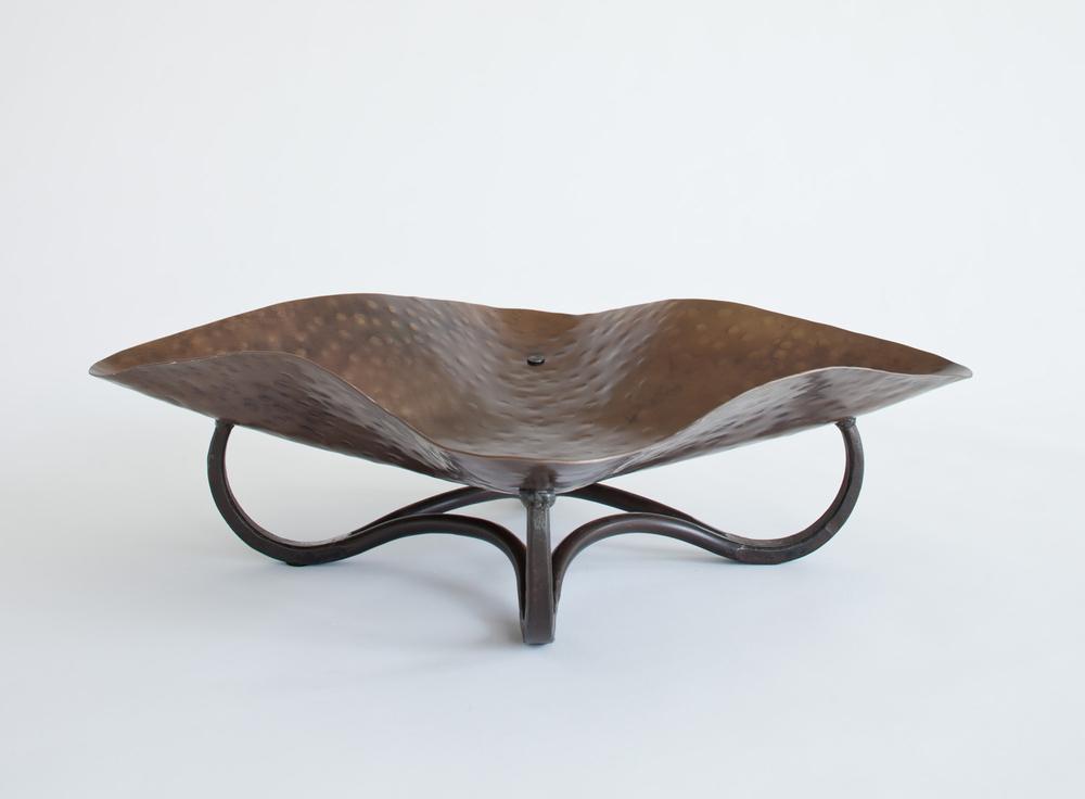 Bronze Platter Bowl