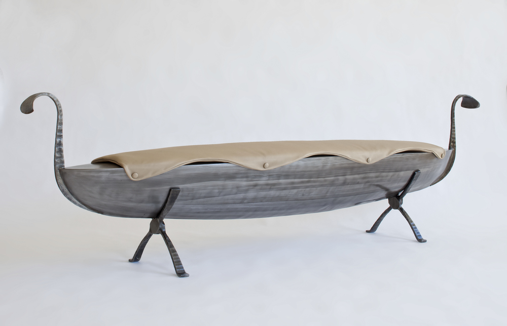 Custom Boat Bench