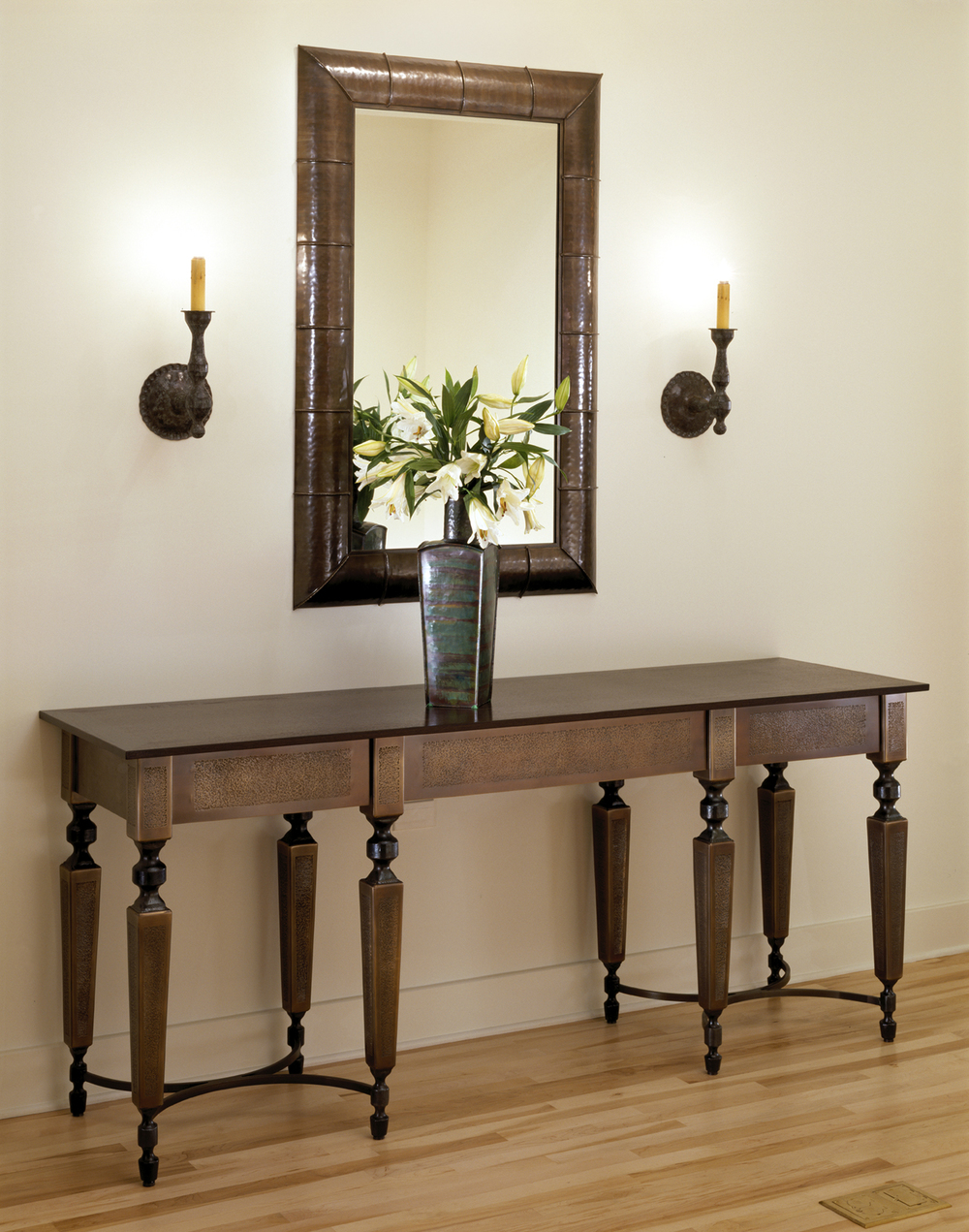 Bronze Buffet Table