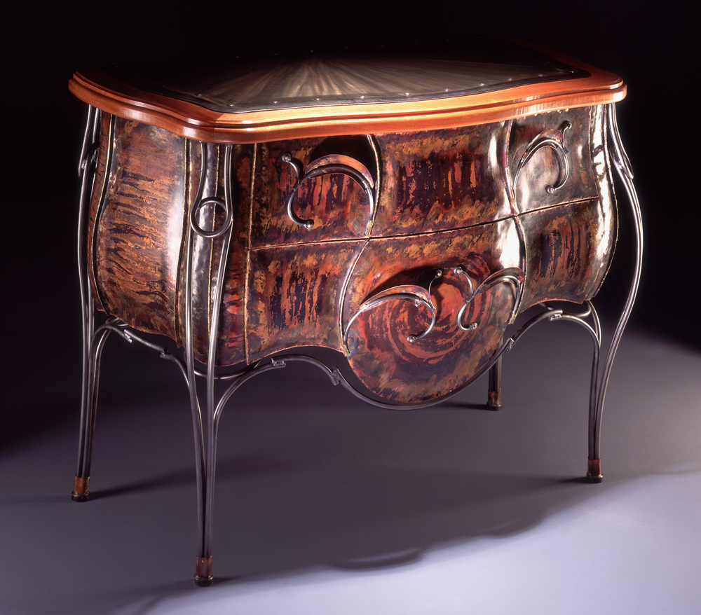 Copper Bombe Chest