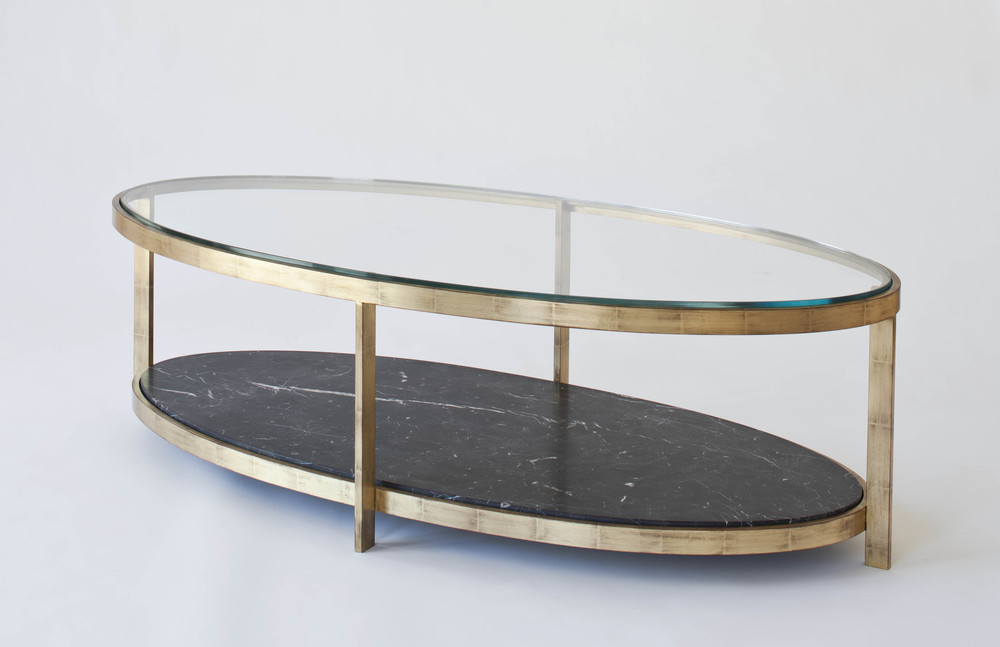 Renzo Elliptical Coffee Table