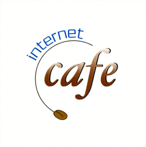 Internet Cyber Cafe Logo