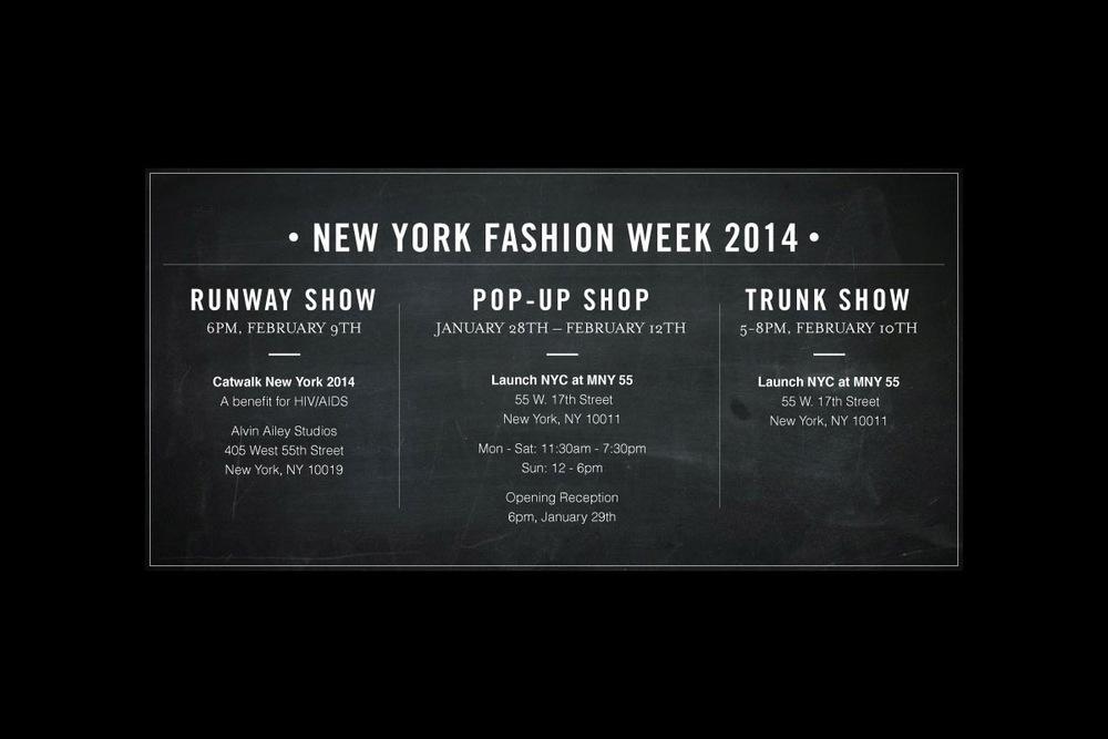 NYFW 2014 Event Details