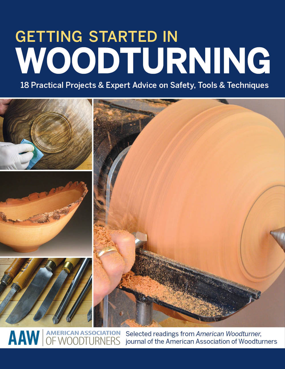 Getting Started in Woodturning Front Cover