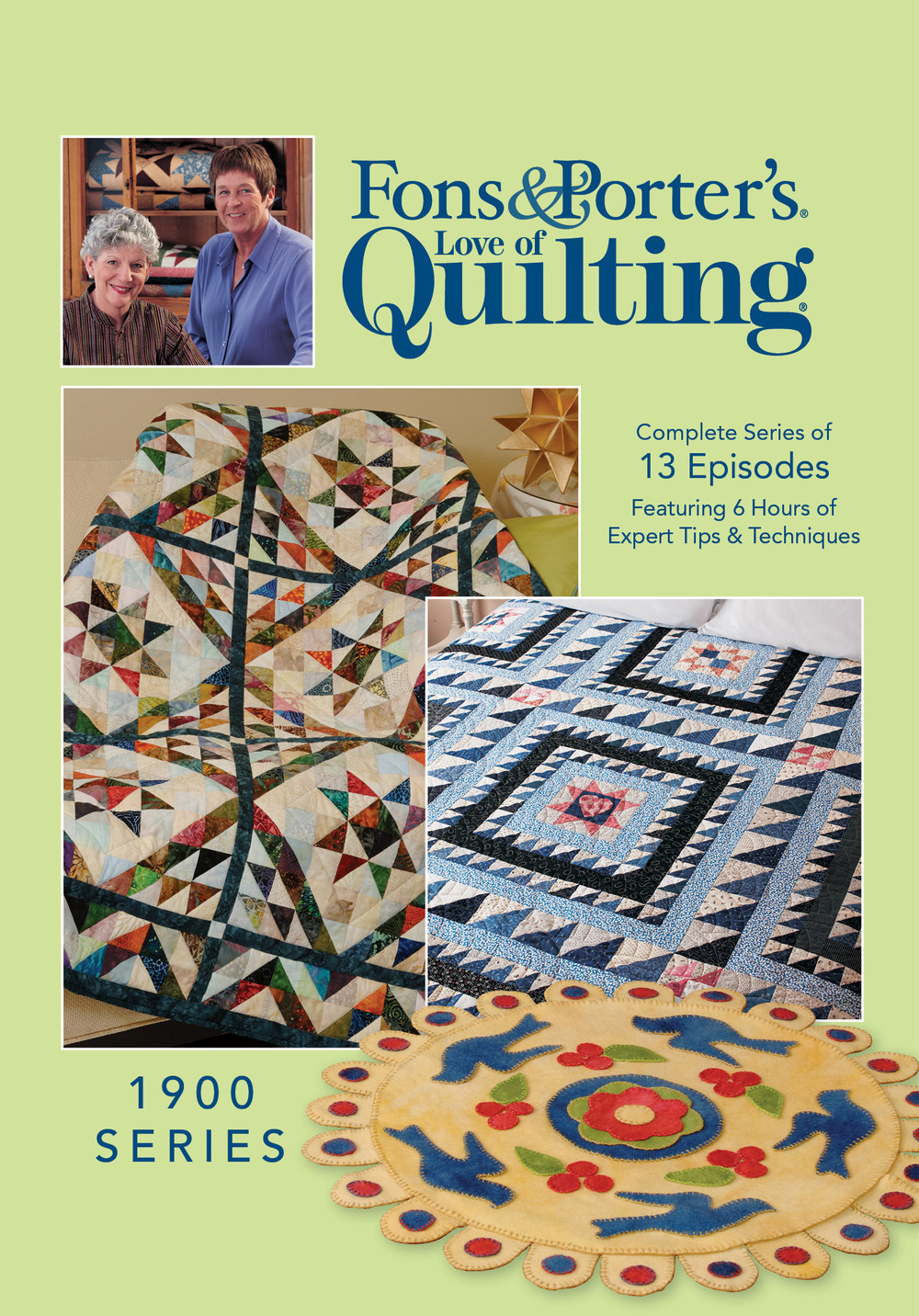 Fons And Porters Love Of Quilting March April 2016 Magazine