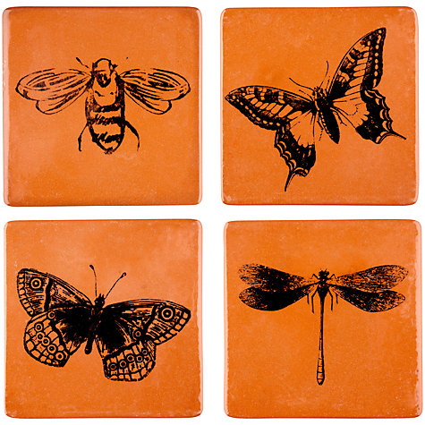 spotted on the high street this week: insect coasters I designed for John Lewis :D