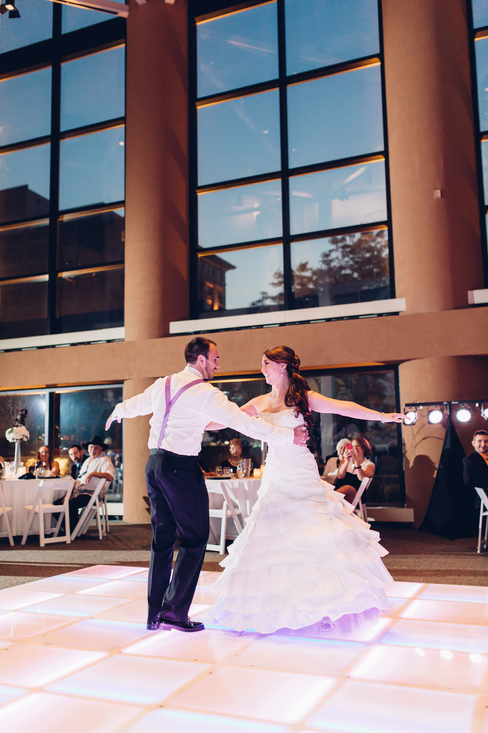 First-dance-valentine-theatre-wedding