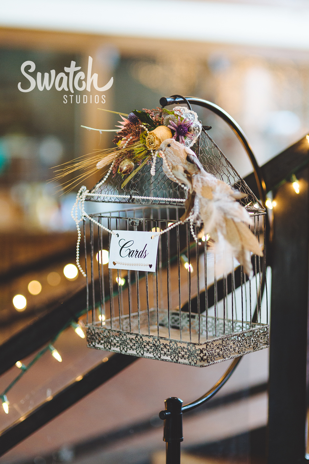 Birdcage_wedding_card_holder