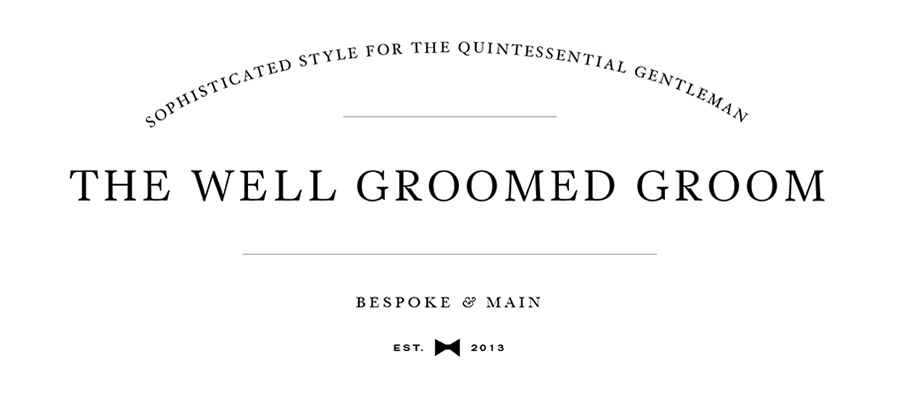 The Well Groom Groomed Wedding Blog