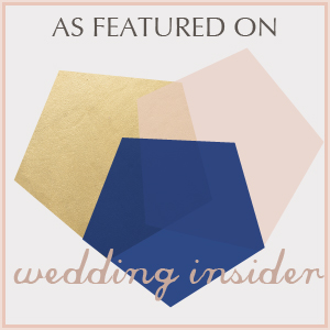 Featured on Wedding Insider