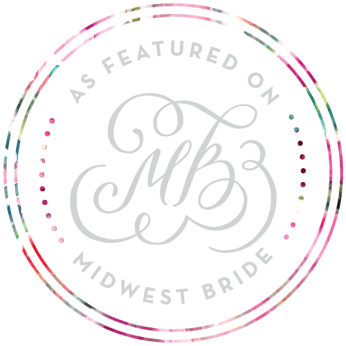 Featured on Midwest Bride Wedding Blog
