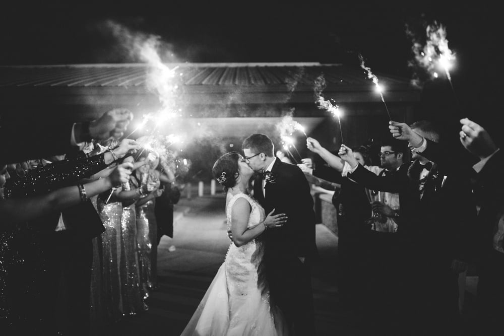 Wedding_Reception_Sparklers