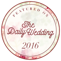 Wedding feature on The Daily Wedding blog
