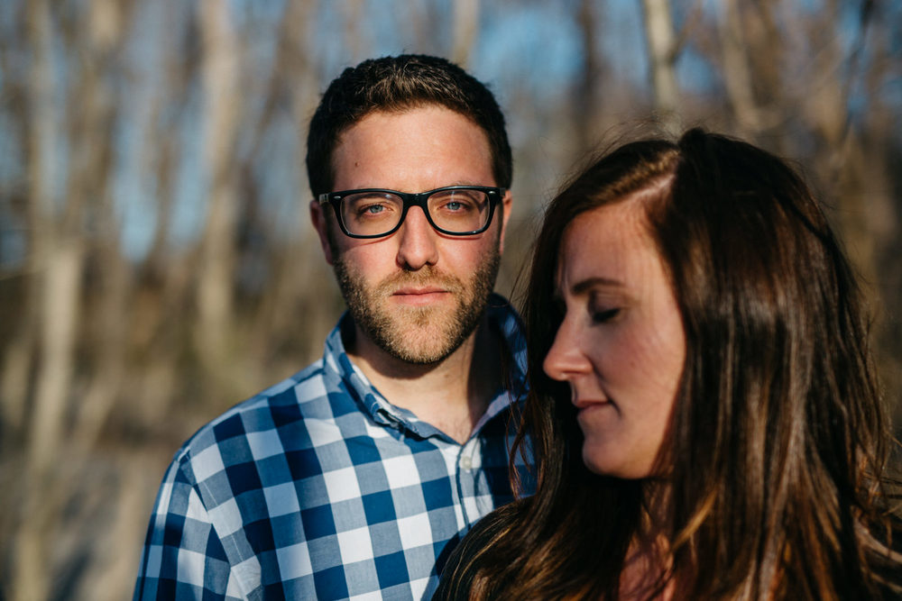 Engagement photography at Sheldon Marsh State Nature Preserve.