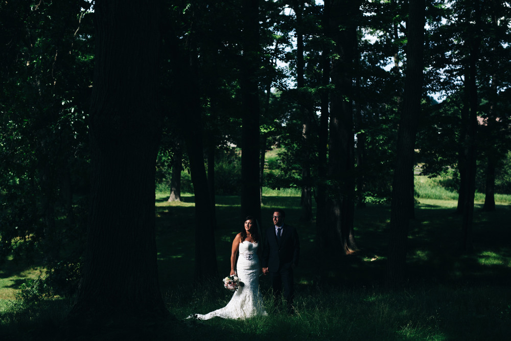 Wedding photography at Hoover Park in Canton, Ohio.