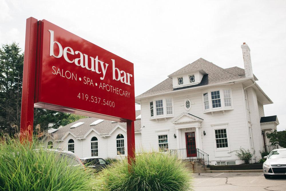 The Beauty Bar Salon & Spa in Toledo, Ohio.
