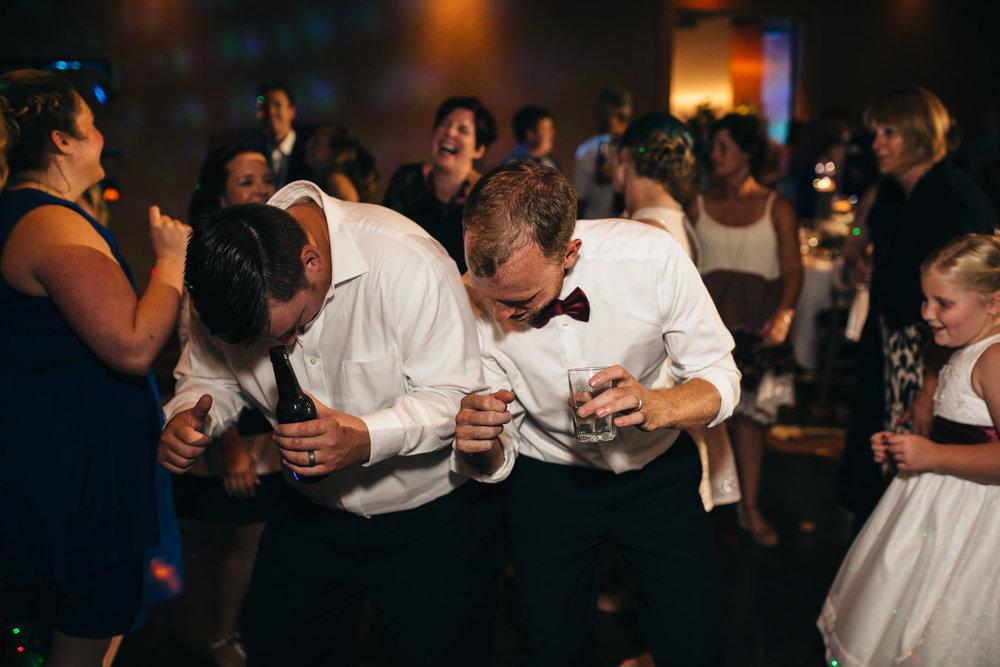 Dancing at Wedding Reception in Toledo, Ohio.