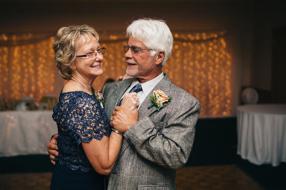 Wedding reception at Stone Ridge Golf Club