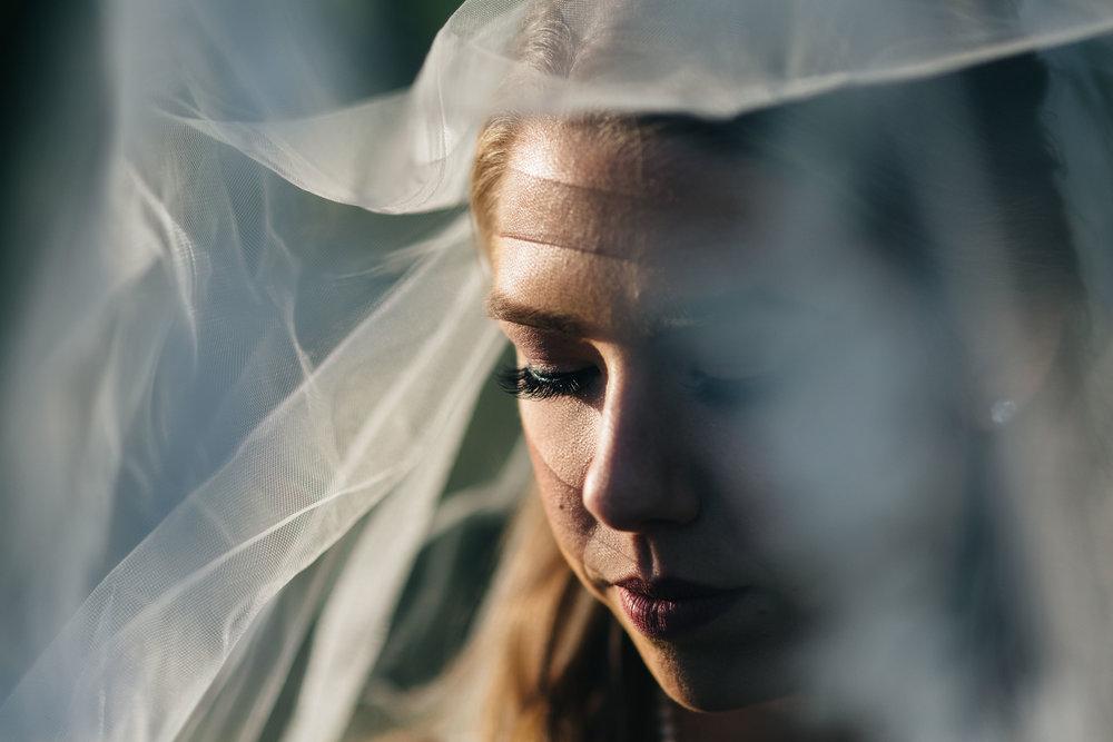 Bridal veil inspiration.