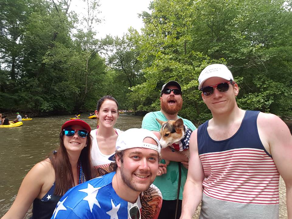 Canoe trip on Fourth of July in Central O