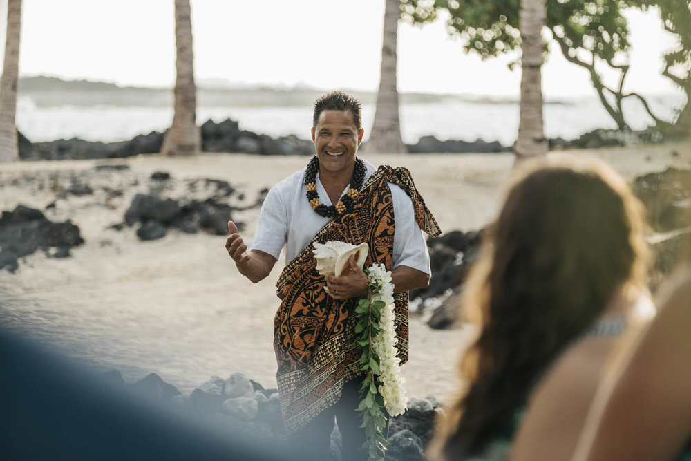 Hawaiian wedding destination photographers.
