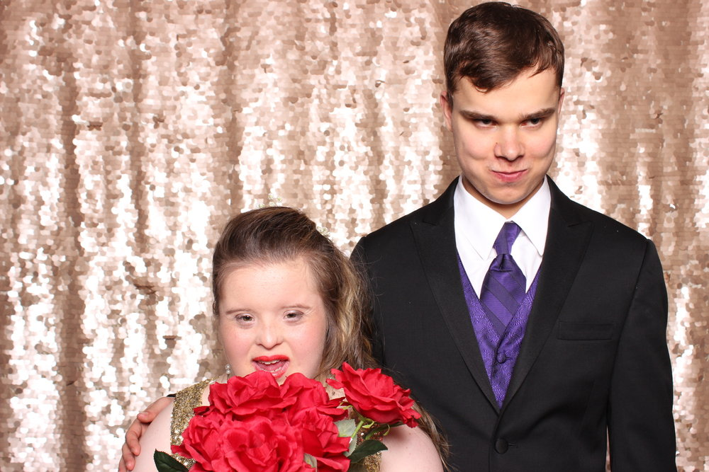 Swanton High School Ohio Prom king and queen 2016