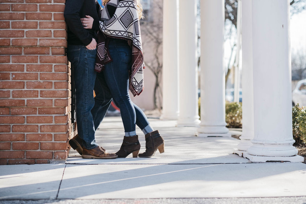 Photography for engagement sessions in Toledo, Ohio.