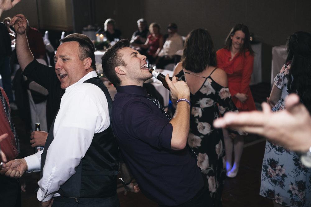 Dancing to Book that DJ at Hilton Garden Inn