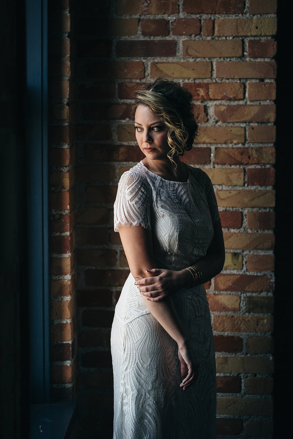 Cleveland Ohio Wedding Bridal Portrait