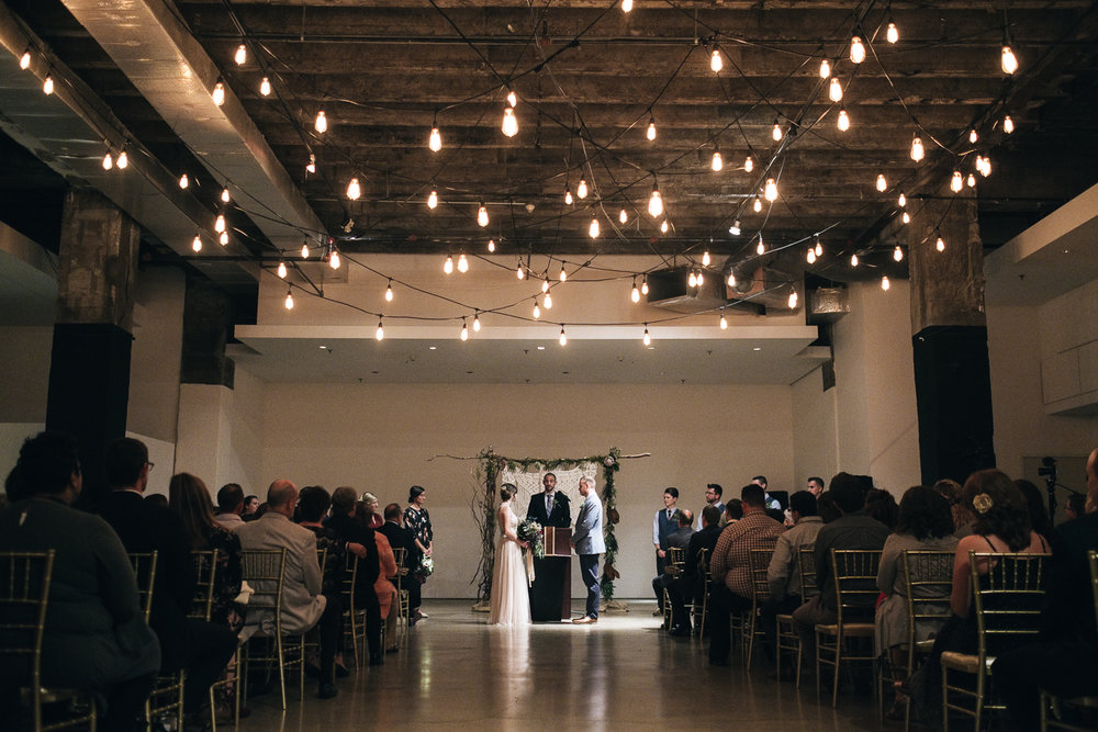 The best Toledo wedding ceremony venues include The Registry Bistro in downtown Toledo