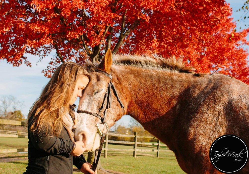 Swatch Studios Intern Captures Model and Horse