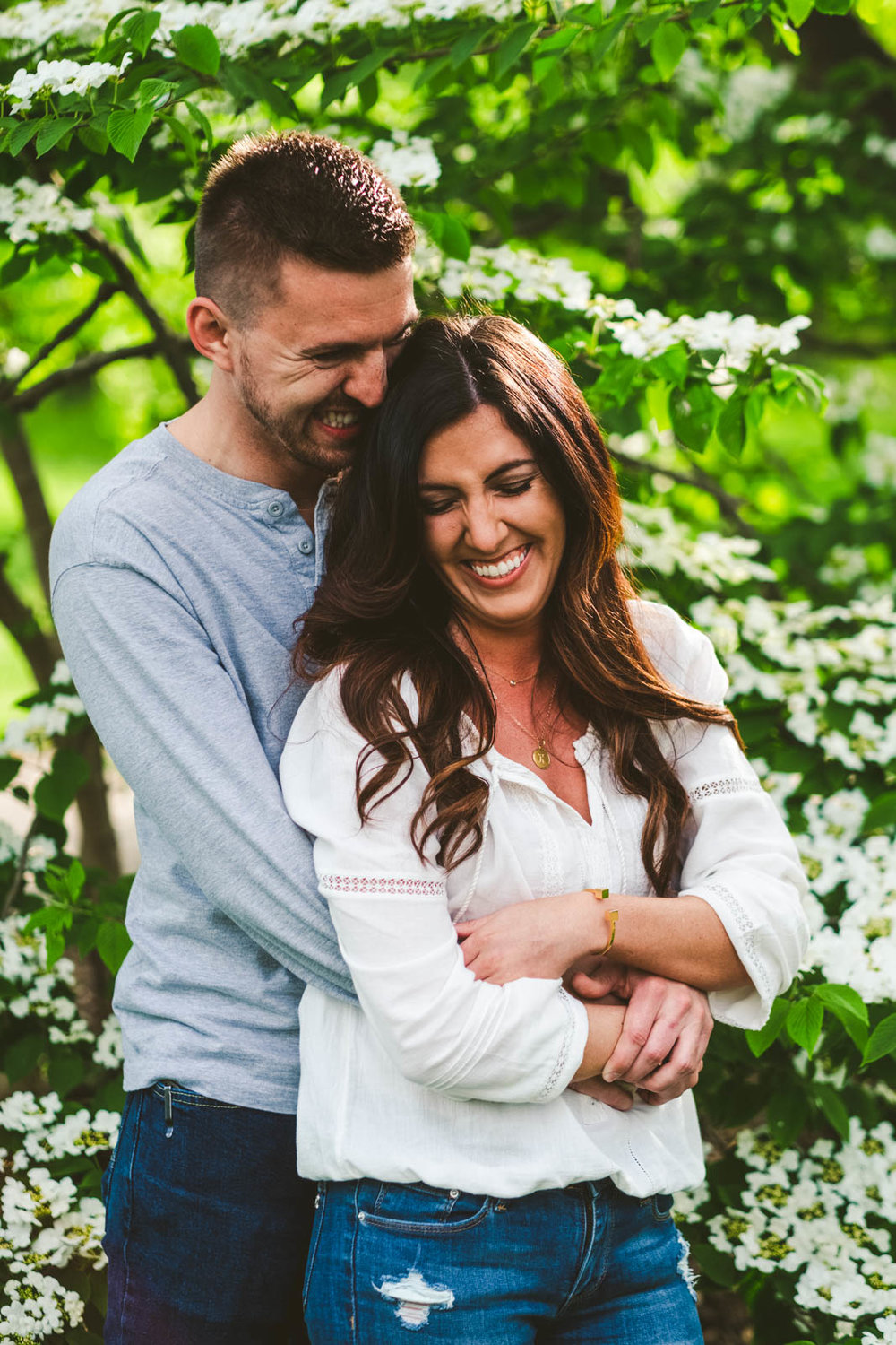 Engagement Session at Toledo Botanical Gardens Toledo Wedding Photographers