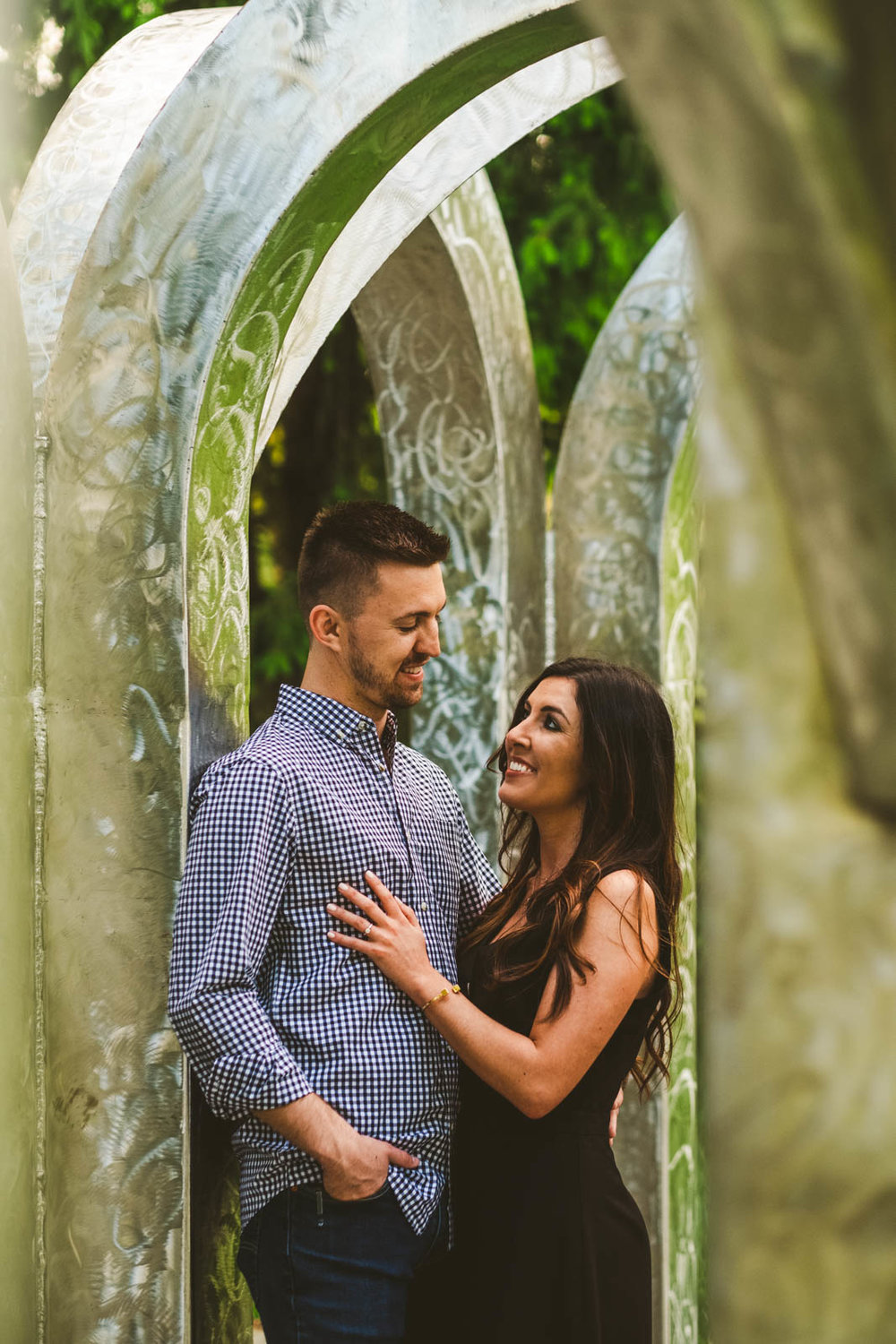 Toledo Botanical Gardens Engagement Session