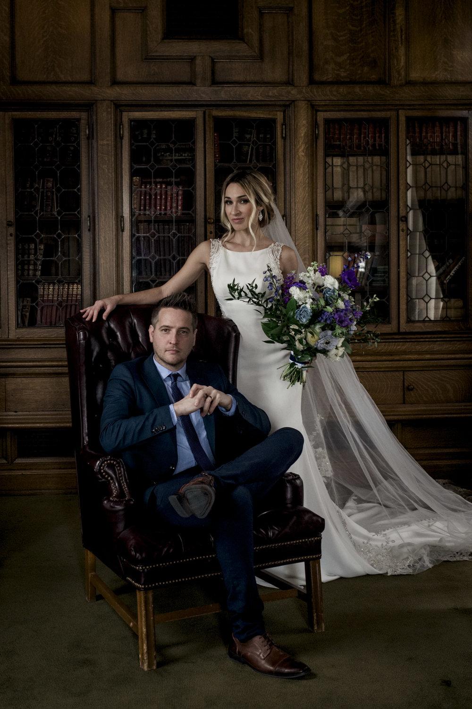 Toledo Wedding Photographers at The Toledo Club for Wedding Photography