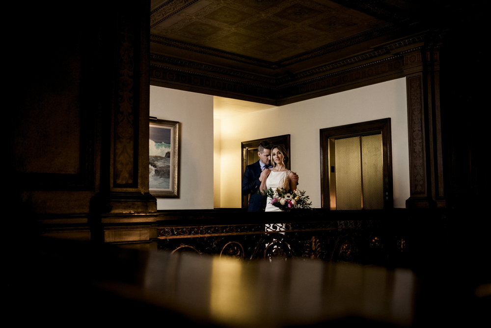 Toledo Club Styled Shoot with Toledo Wedding Photographers and Bride and Groom