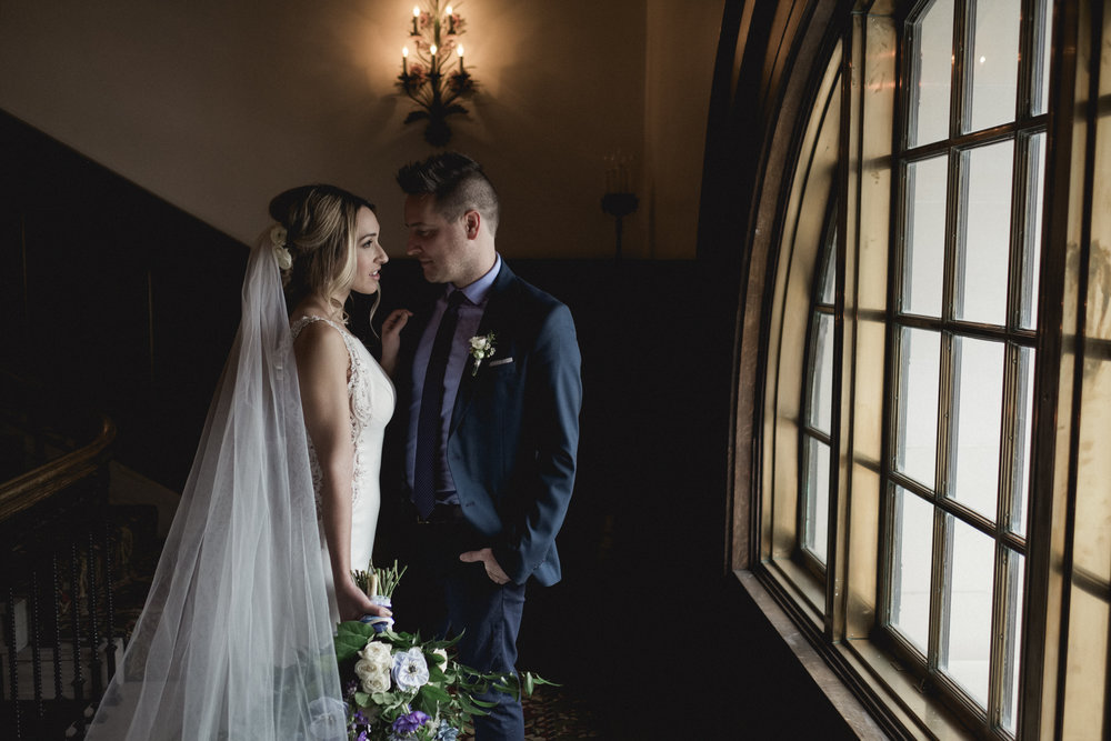 Styled Shoot with Bride and Groom at the Toledo Wedding Club