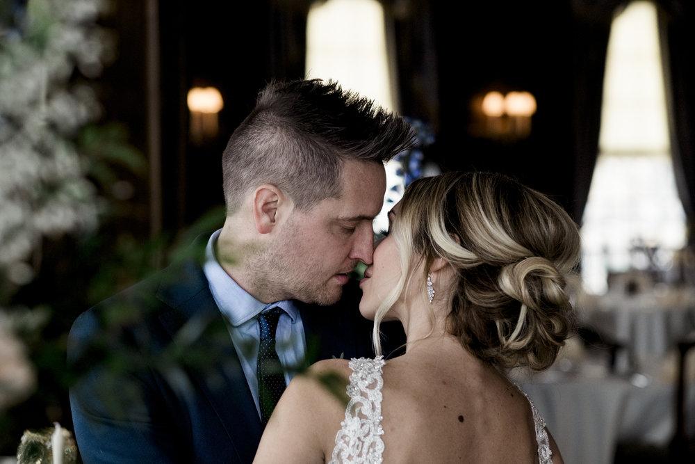 Toledo Wedding Photographers Capture Wedding Session for Styled Shoot at Toledo Club