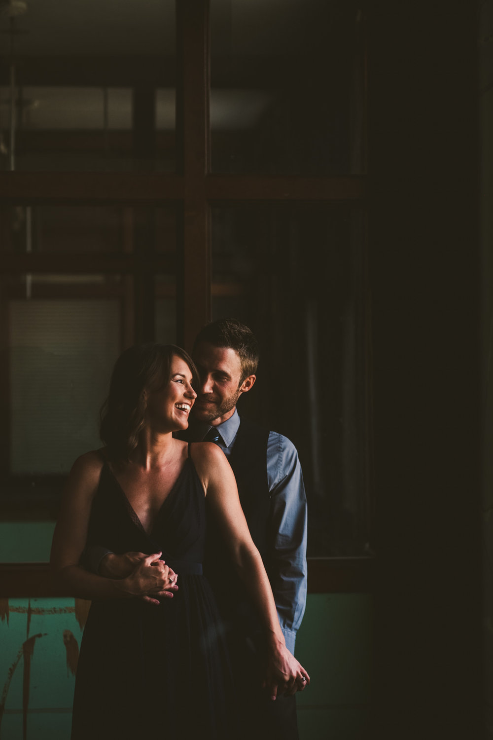 Great Lakes Event Center Engagement Session with Couple and Toledo Wedding Photographers