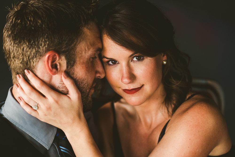 Great Lakes Event Center Engagement Session with Northwest Ohio Wedding Photographers from Toledo