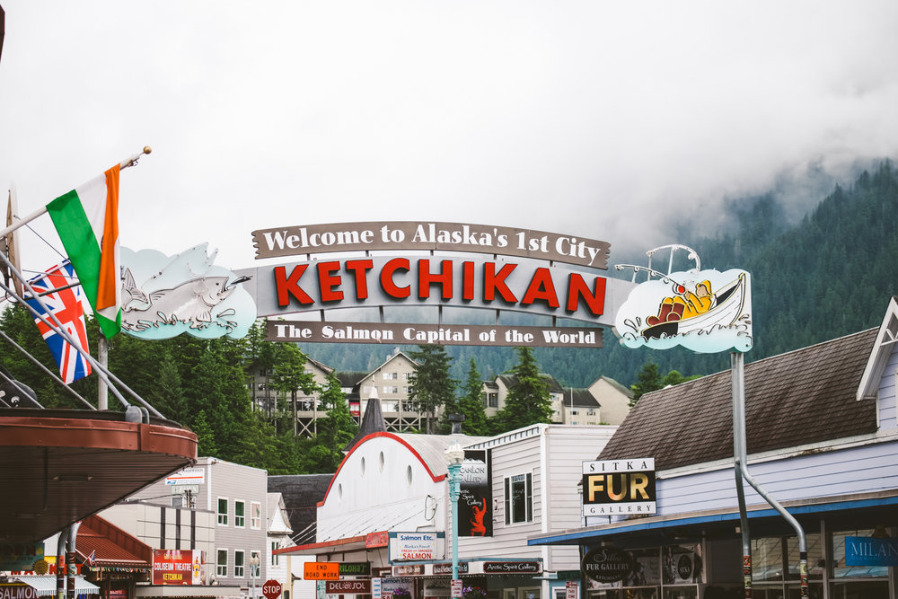 Ohio Wedding Photographers travel to Ketchikan, Alaska